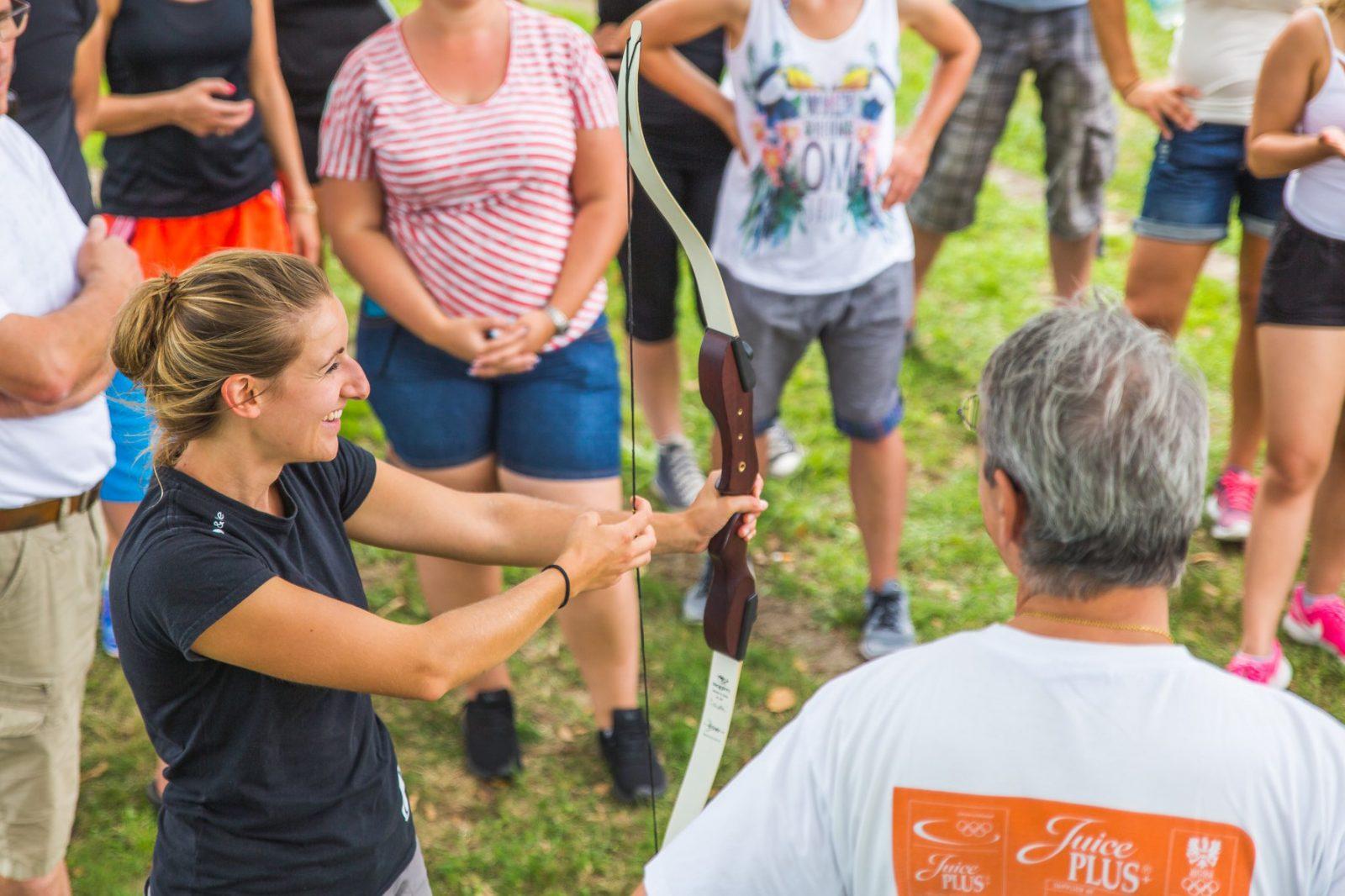 Team-Event Erlebnispädagogik Bogenschießen